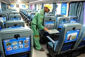 Now shop on Shatabdi trains Shatabdi Express Executive Class