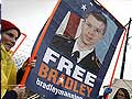 US soldier in WikiLeaks case says he was held in a 'cage'