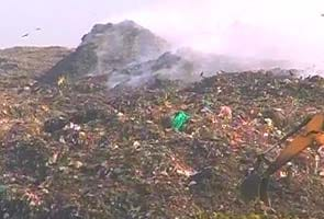 Huge protests at Chennai's largest garbage dump