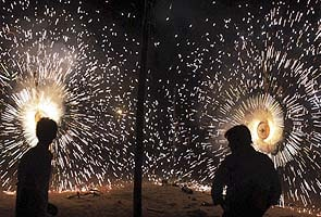 India shining with Chinese lights on Diwali