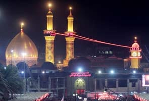 Millions flood Iraq shrine city for Ashura peak