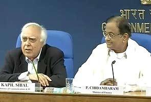 Hen that laid golden egg destroyed: Telecom Minister Sibal on flop 2G auction