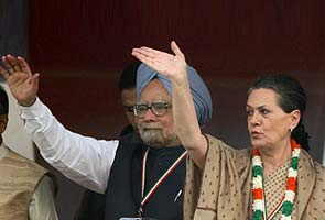 Congress gambles on reforms, FDI at Delhi rally