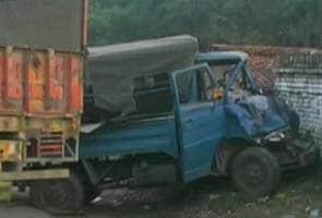 Three killed in Naxal attack on police van in Jharkhand