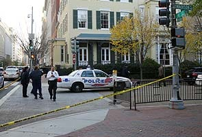 Shooting reported near the White House