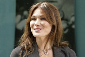 Carla Bruni-Sarkozy backs gay marriage, models for Vogue