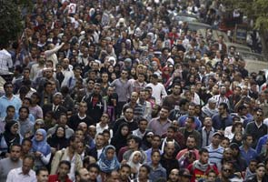 Mohamed Mursi opponents rally in Cairo's Tahrir