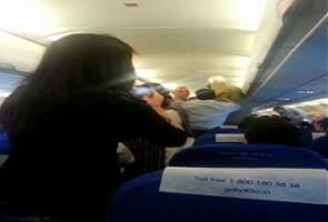 Man turns violent on board Mumbai-Delhi IndiGo flight; threatens, attacks crew member
