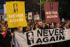 After Savita Halappanavar's death, thousands march for abortion rights in Ireland
