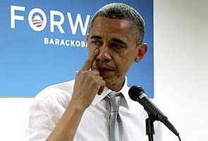 Aww... Teary Barack Obama's thank you to campaign workers