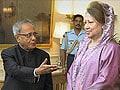 Former Bangladesh PM Khaleda Zia meets President Pranab Mukherjee