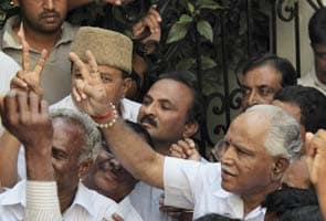Yeddyurappa gets backing of his loyalists to form new party