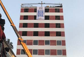10-storey building built in 48 hours in Mohali
