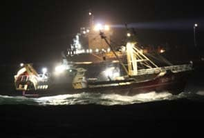 Search for seven bodies in Dutch shipping accident abandoned
