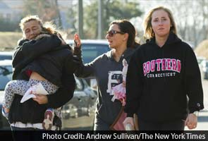 US school shooting: 'who would do this to our poor little babies'