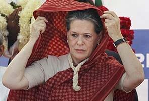 Congress reshuffle soon: Sonia Gandhi