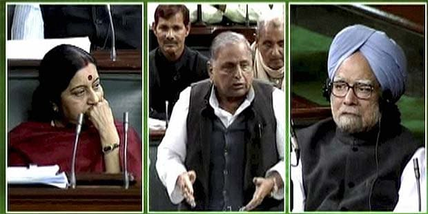 FDI in retail not good for nation, says Mulayam Singh Yadav; PM changed his stand, says BJP