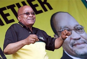 South African president Jacob Zuma wins ANC leadership vote by landslide