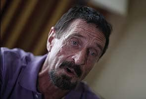 John McAfee denied asylum; expected in Belize