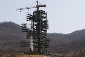 North Korea gears up to launch long-range missile