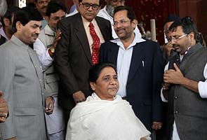Our notice for floor test on FDI exposed Mayawati, Mulayam Singh: BJP