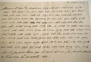 Napoleon's coded Kremlin letter sold for $243,500
