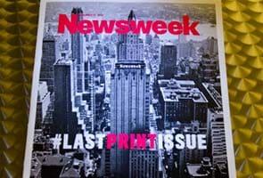 Hashtag symbolizes end of an era for Newsweek