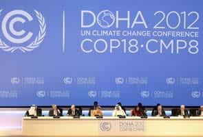 United Nations chief urges 'strong commitment' at climate talks