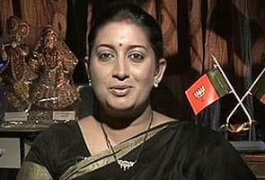BJP protests Sanjay Nirupam's jibe against Smriti Irani, demands apology from Sonia Gandhi