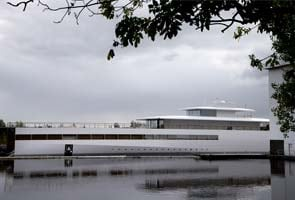 Steve Jobs' super yacht seized in Amsterdam