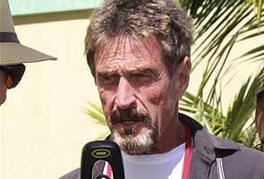 Software founder John McAfee captured: report