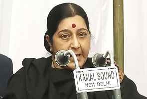 'Amanat' case: She has shaken our conscience, says Sushma Swaraj