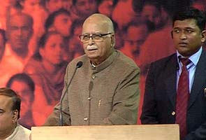 Rajnath Singh has ability to bring people together, says Advani: Highlights