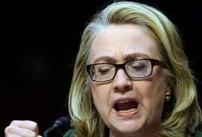 Hillary Clinton chokes up as she defends handling of Benghazi attack