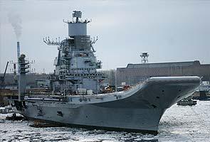 Final trials for INS Vikramaditya, Rs 12,500-crore ship, in June