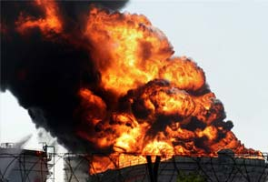 Three killed in major fire at oil storage facility near Surat