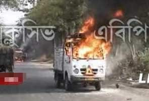 A day after violent clashes, Left calls for protest march against Trinamool