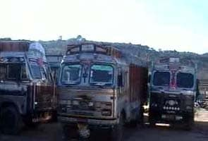 Fresh firing at Line of Control; Pakistan bars Indian trucks