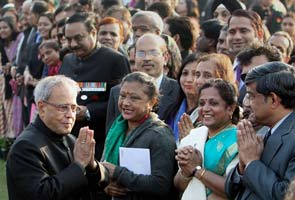 President Pranab Mukerjee's Republic Day 'At Home' with a difference
