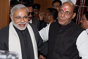 Discussed 2014 in detail, say Narendra Modi and Rajnath Singh after meeting