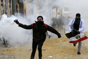 Violence flares on anniversary of Egypt uprising