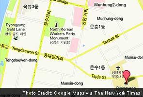 Google map's new target: secretive North Korea
