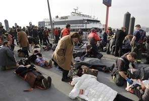 Commuter ferry crash in New York injures 57, one critical