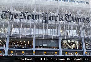 Hackers in China attacked New York Times for four months