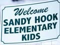 Sandy Hook kids head to school for first time since attack