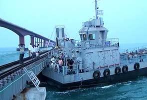 Chinese crew arrested for ship collision into century-old rail bridge near Tamil Nadu coast
