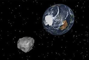 Asteroid to pass close by Earth tonight