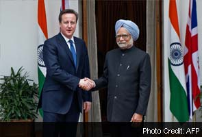 VVIP chopper deal: PM conveys India's concerns to UK, Cameron assures cooperation