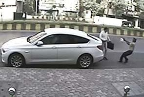 Caught on CCTV: Mumbai builder shot dead in front of his office