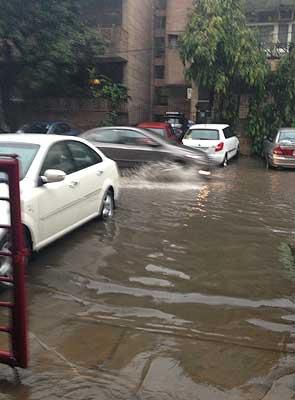 Delhi's wettest winter in 70 years